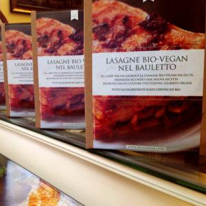 RE LASAGNA® Lasagne BIO-Vegan nel Bauletto