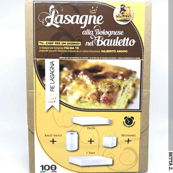 RE LASAGNA® Lasagne alla Bolognese nel Bauletto
