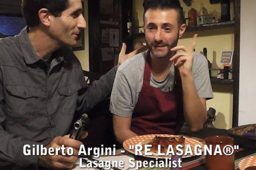 HappyCow Veggie Blog - Ken Spector & Gilberto Argini RE LASAGNA® Bologna