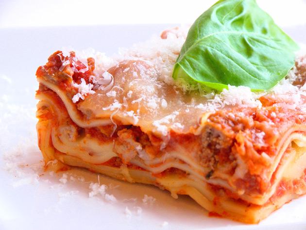 lasagne pronte da infornare