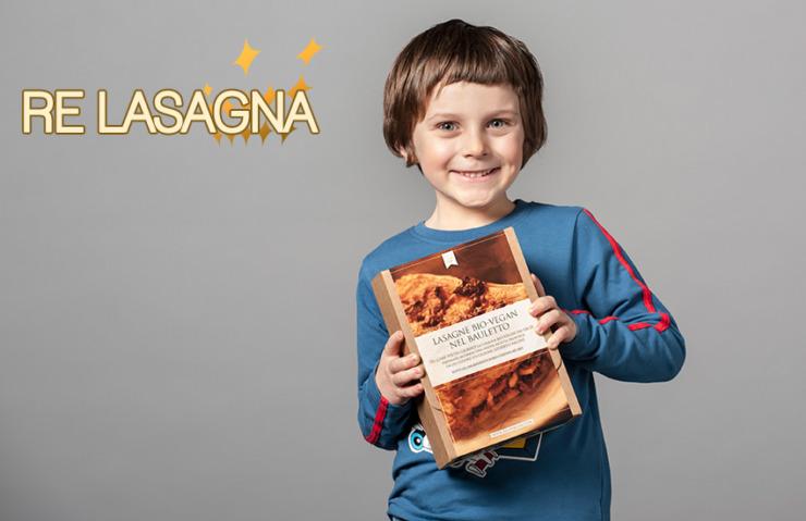 Laurent and Lasagne Organic Vegan