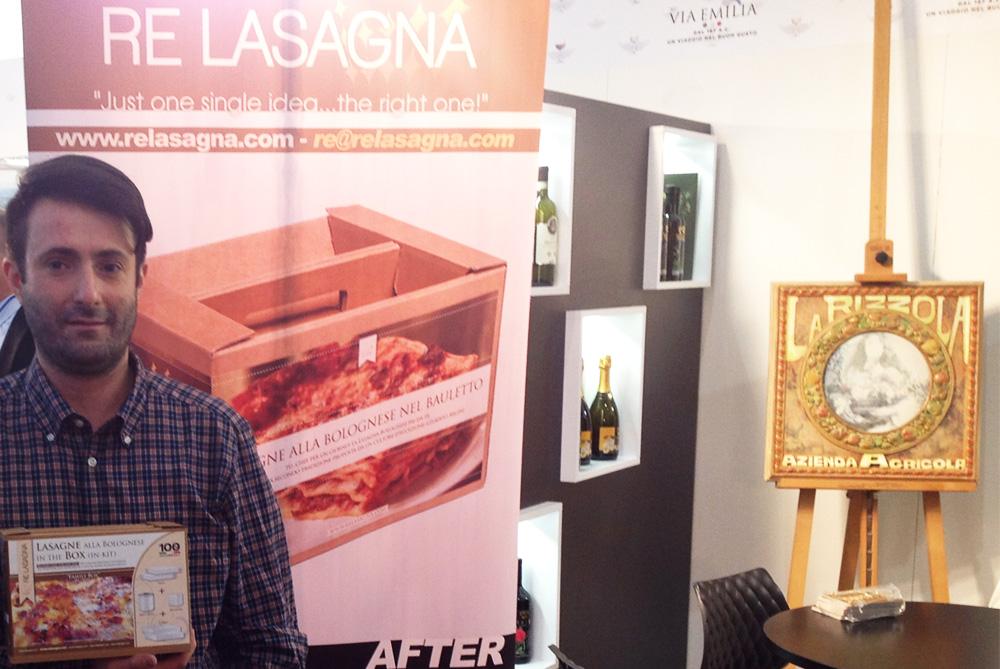 Re Lasagna al Vinitaly 2015