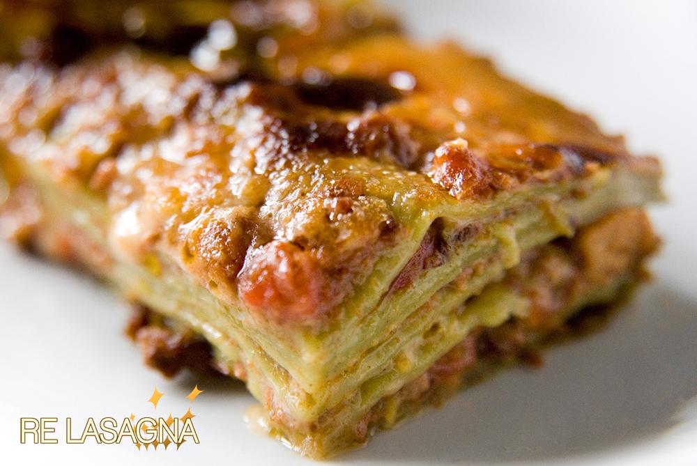 Ricetta Lasagne Verdi Alla Bolognese.City Of Food Lasagne Verdi Alla Bolognese Re Lasagna The King Of Lasagne Alla Bolognese From Bologna