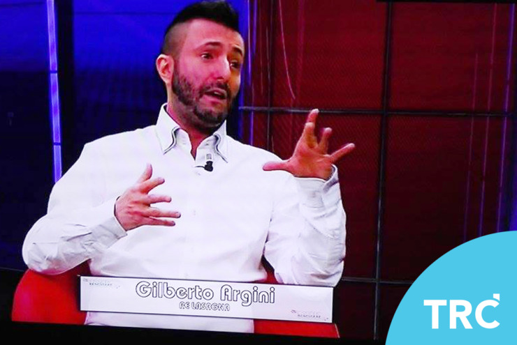 Re Lasagna ospite su TRC TV Bologna