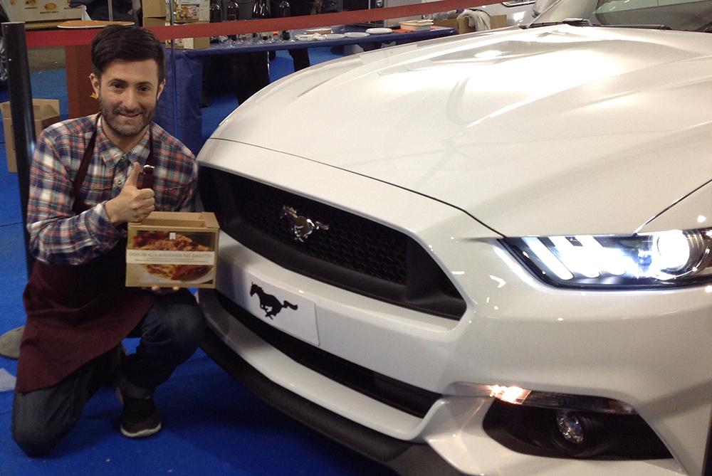 Re Lasagna e Ford Sascar Modena