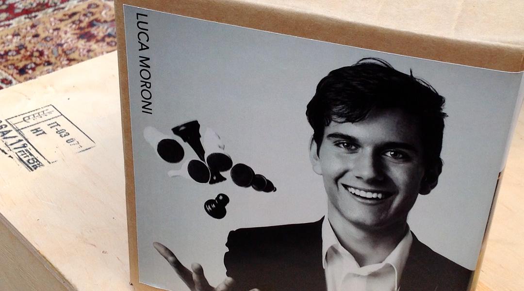 Lasagne del campione italiano di scacchi, Luca Moroni