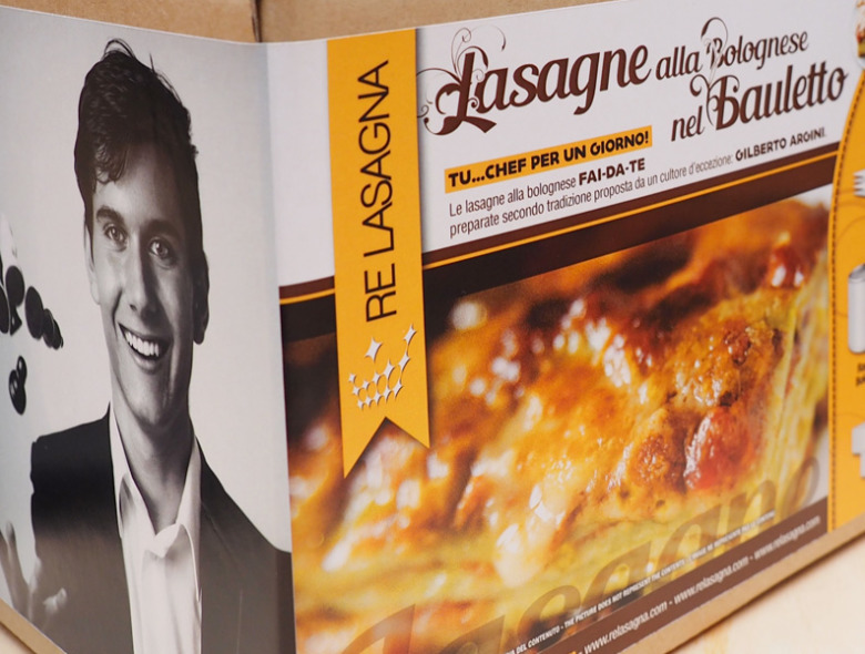 Luca Moroni, firma le mie lasagne