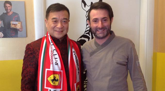 "Yuhua Zhu ""Giuseppe"" e Re Lasagna"