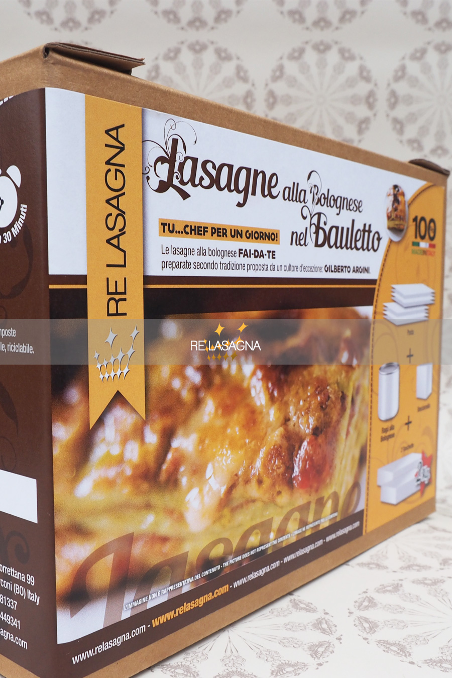 Lasagne alla Bolognese by Re Lasagna