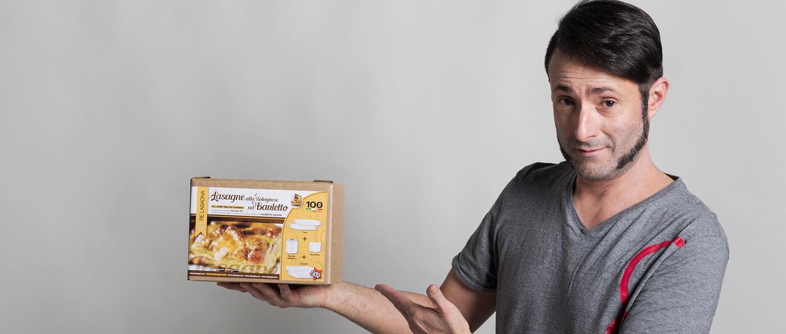 Gilberto Argini aka Re Lasagna